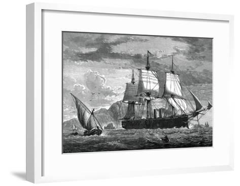 H M Swift Cruiser Inconstant, C1880-WC Watmough-Framed Art Print