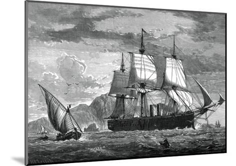 H M Swift Cruiser Inconstant, C1880-WC Watmough-Mounted Giclee Print