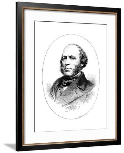John Ericsson, Swedish-Born American Engineer and Inventor-Whymper-Framed Art Print
