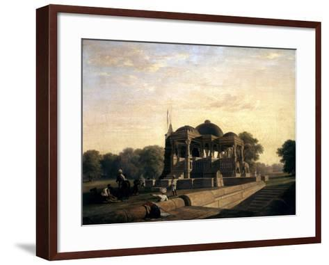 Ancient Temple at Hulwud, 1826-William Frederick Witherington-Framed Art Print
