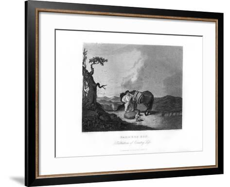 Farmer's Son, C1872-William G Jackman-Framed Art Print