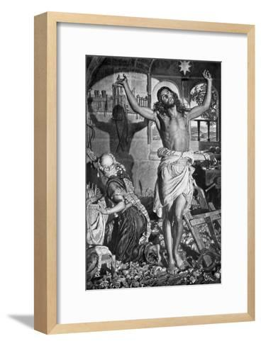 The Shadow of the Cross, 1926-William Holman Hunt-Framed Art Print