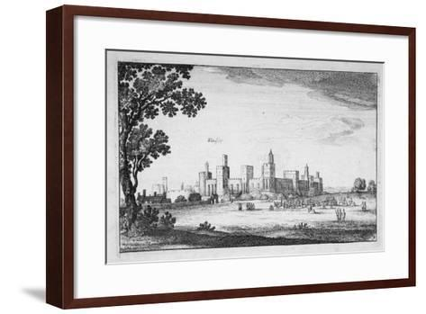View of Windsor Castle, Berkshire, 1644-Wenceslaus Hollar-Framed Art Print