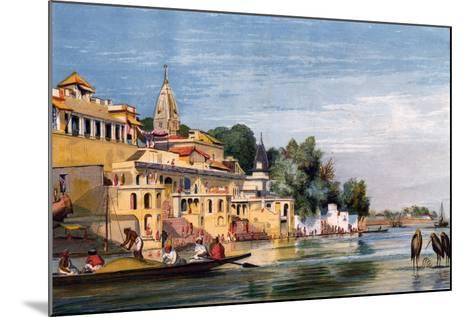 Cawnpore on the Ganges, India, 1857-William Carpenter-Mounted Giclee Print