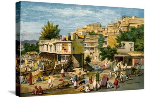 Peshawar, Pakistan, 1857-William Carpenter-Stretched Canvas Print