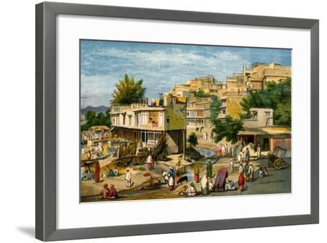 Peshawar, Pakistan, 1857-William Carpenter-Framed Art Print