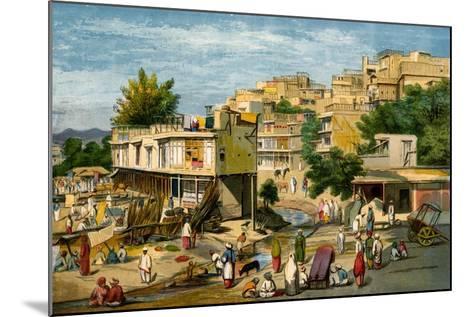 Peshawar, Pakistan, 1857-William Carpenter-Mounted Giclee Print