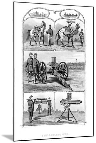 Gatling Rapid Fire Guns, 1862-William George Armstrong-Mounted Giclee Print