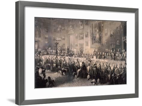 Apsley House, Westminster, London, 1853-William Greatbach-Framed Art Print