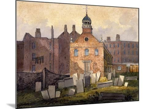 St Marylebone Old Church, London, C1815-William Pearson-Mounted Giclee Print