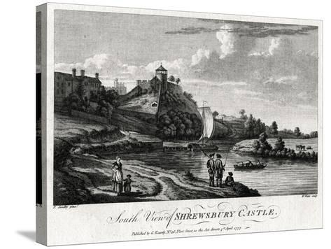 South View of Shrewsbury Castle, Shropshire, 1777-William Watts-Stretched Canvas Print