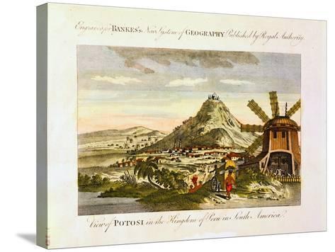 Mount Potosi, Bolivia, C1788--Stretched Canvas Print