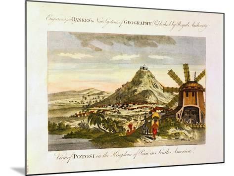 Mount Potosi, Bolivia, C1788--Mounted Giclee Print