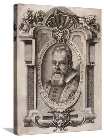 Galileo Galilei, 1623--Stretched Canvas Print