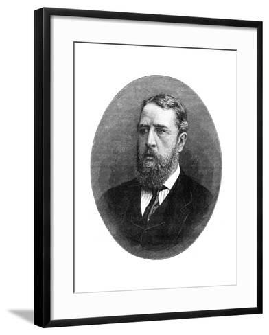 Spencer Compton Cavendish, Marquis of Hartington, British Liberal Statesman, 1900- Russell & Sons-Framed Art Print