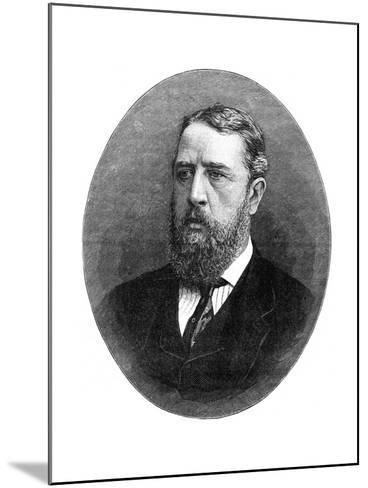 Spencer Compton Cavendish, Marquis of Hartington, British Liberal Statesman, 1900- Russell & Sons-Mounted Giclee Print