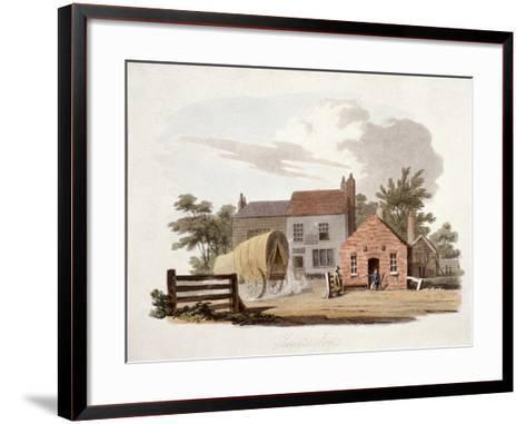 Kensington Turnpike, London, C1810-William Pickett-Framed Art Print