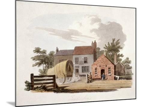 Kensington Turnpike, London, C1810-William Pickett-Mounted Giclee Print