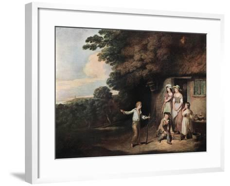 The Shipwrecked Sailor Boy, Late 18th-Early 19th Century-William Redmore Bigg-Framed Art Print
