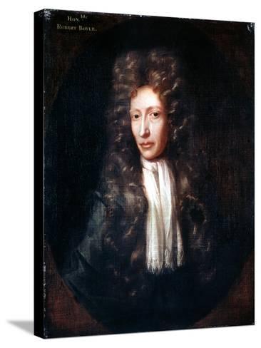 Robert Boyle, Irish Born Chemist and Physicist, C1689-1690-Johann Kerseboom-Stretched Canvas Print