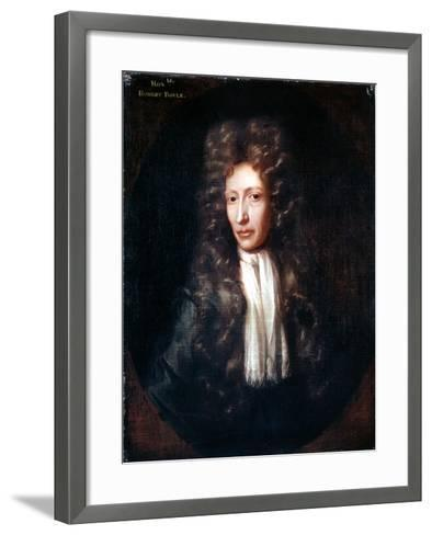 Robert Boyle, Irish Born Chemist and Physicist, C1689-1690-Johann Kerseboom-Framed Art Print