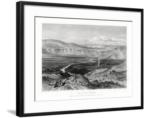 The River Jordan, 1887-William Richardson-Framed Art Print