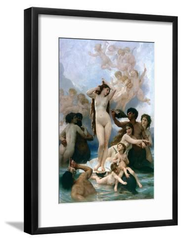 The Birth of Venus, 1879-William-Adolphe Bouguereau-Framed Art Print