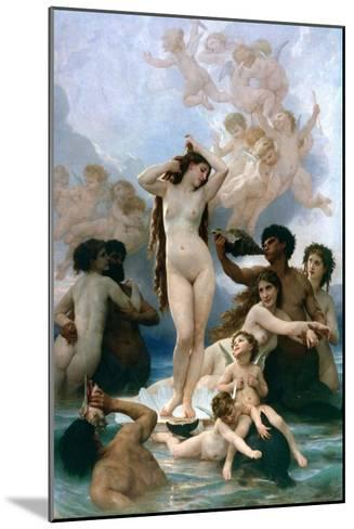 The Birth of Venus, 1879-William-Adolphe Bouguereau-Mounted Giclee Print