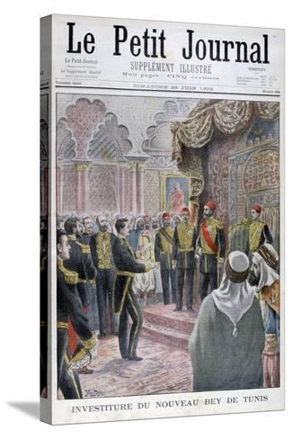 Nomination of the New Bey of Tunis, 1902- Yrondy-Stretched Canvas Print