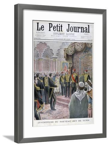 Nomination of the New Bey of Tunis, 1902- Yrondy-Framed Art Print