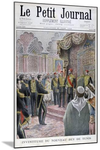 Nomination of the New Bey of Tunis, 1902- Yrondy-Mounted Giclee Print
