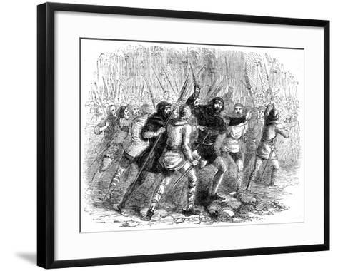 Revolt of the Citizens of London Against Matilda, 1141--Framed Art Print