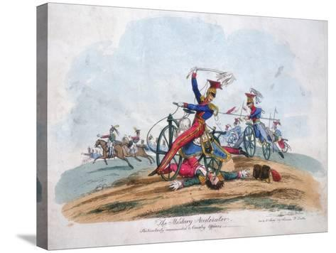 The Military Accelerator - Particularly Recommended to Cavalry Officers, C1820--Stretched Canvas Print