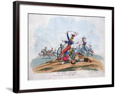 The Military Accelerator - Particularly Recommended to Cavalry Officers, C1820--Framed Art Print