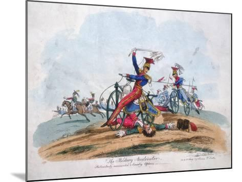 The Military Accelerator - Particularly Recommended to Cavalry Officers, C1820--Mounted Giclee Print