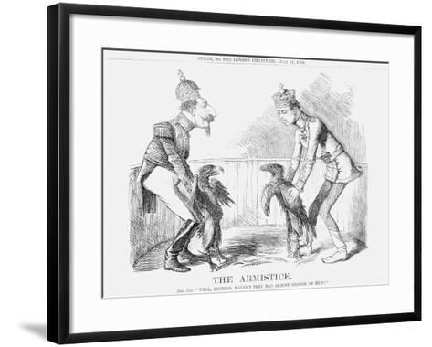 The Armistice, 1859--Framed Art Print