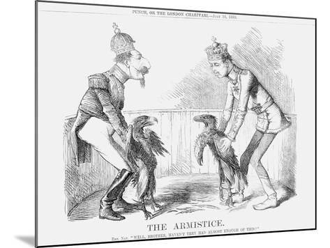 The Armistice, 1859--Mounted Giclee Print