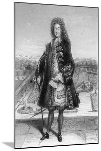 John Law, Comptroller General of France, 1720--Mounted Giclee Print