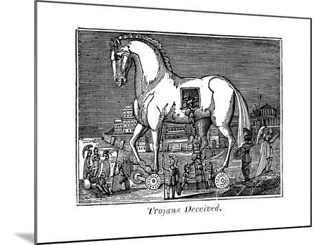 Trojans Deceived, 1830--Mounted Giclee Print