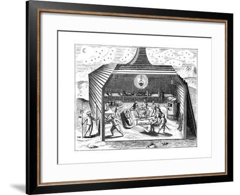 Winter Quarters of Willem Barents' Expedition to the Arctic, 1596-1597--Framed Art Print