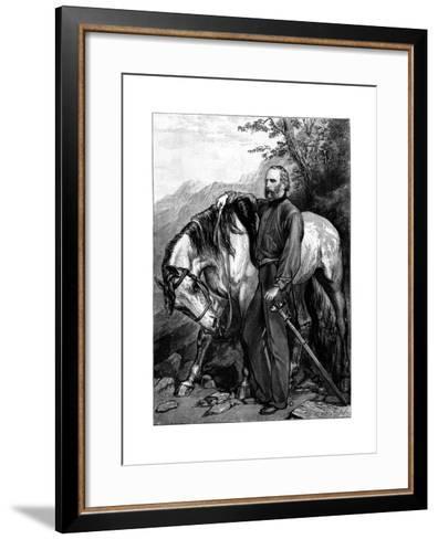 Giuseppe Garibaldi, Italian Patriot and Soldier of the Risorgimento--Framed Art Print
