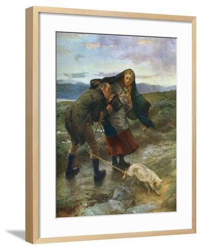 The Last Match, 1887-William Small-Framed Art Print