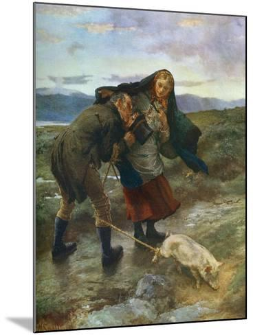 The Last Match, 1887-William Small-Mounted Giclee Print