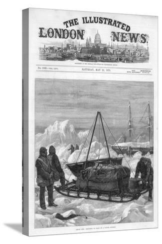 The Cover of the Illustrated London News, 29th May 1875-WJ Palmer-Stretched Canvas Print
