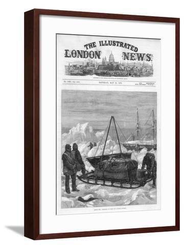 The Cover of the Illustrated London News, 29th May 1875-WJ Palmer-Framed Art Print