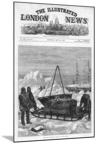 The Cover of the Illustrated London News, 29th May 1875-WJ Palmer-Mounted Giclee Print