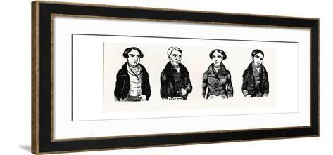 A Contemporary Impression of the Tolpuddle Martyrs, 1934--Framed Art Print
