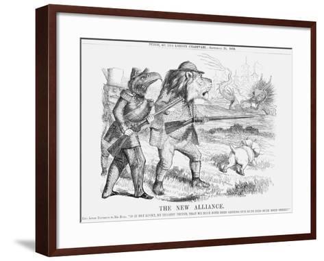 The New Alliance, 1859--Framed Art Print