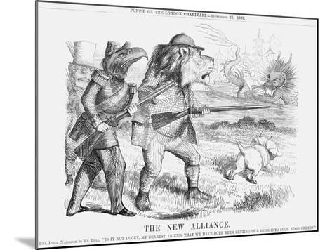 The New Alliance, 1859--Mounted Giclee Print