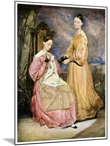 Florence Nightingale, British Nurse and Hospital Reformer, C1836-William White-Mounted Giclee Print